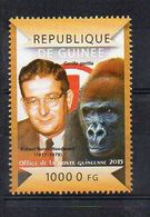 REP. GUINEA. 2015. ROBERT BURNS WOODWARD. MNH (6R1232) - Famous People