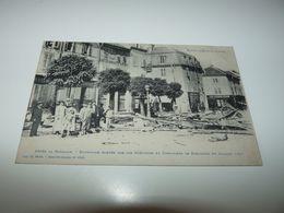 VOSGES RAON L'ETAPE APRES LA BATAILLE BARRICADE ELEVEE PAR LES GREVISTES ET EMEUTIERS LE DIMANCHE 28 JUILLET 1907 - Raon L'Etape