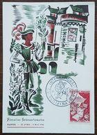 YT N°974 - METIERS D'ART / FLEURS ET PARFUMS  - FLORALIES INTERNATIONALES NANTES - 1956 - France