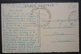 Algérie  R.T.A 411 Peloton Spécial De Saint Cyr à L école Normale, Carte Pour Le Bardo Tunisie - Algerije (1924-1962)