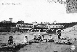 ROYAN    La Plage Du Chay  Et Ses Cabines Surélevées - Royan