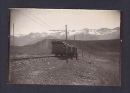 Photo Originale Luchon Superbagneres Chemin De Fer à Cremaillere Train - Trains