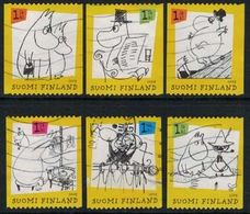 2009 Finland Moomins, Complete Set Used. - Finland