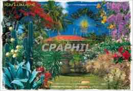 CPM Martinique Antilles Francaise Jardin Tropical - Martinique