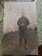 Carte Photo Militaire, Chasseurs 11e BCA, Fort Prinz Karl, Soldat Catalan De Torreilles, Pyrénées-Orientales - Régiments