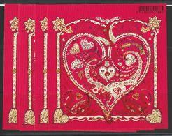 France Année 2013 Bloc Coeur Hermès F4717 ** MNH Par 6 Exemplaires - Ungebraucht