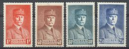 FRANCE - 1941 - NR 470-/-473 - Neufs - Unused Stamps