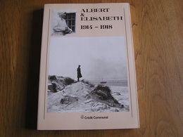 ALBERT & ELISABETH 1914 1918 Guerre 14 18 La Panne Photographies Avion Coxyde Moëres Yser Hopital Océan Nieuport Luyghem - Guerre 1914-18
