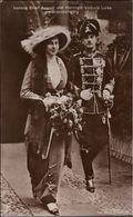 ! Alte Ansichtskarte, Adel, Royalty, Haus Braunschweig, Uniform, Herzog Ernst August,  Victoria Luise - Braunschweig