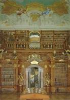 A - NÖ - Stift Melk : Bibliothek - Foto Baumgartner, Graz N° CM 405 A0 - Melk