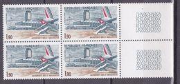 N° 2203 Aéroport De Bâle-Mulhouse: Beau Bloc De 4 Timbres Neuf Impecable - Unused Stamps