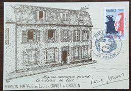 CM 1981 - YT N°2149 - LOUIS JOUVET - CROZON - 1980-89