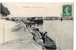 ORLEANS - La Loire Et Le Pont - Orleans
