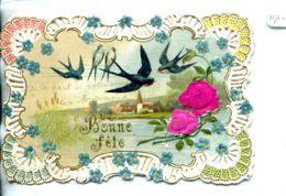 N°932 R -carte Collage Montage Découpis -bonne Fête- - Fantaisies