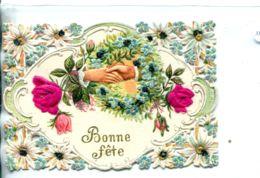 N°933 R -carte Collage Montage Découpis -bonne Fête- - Fantaisies