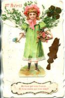 N°939 R -carte Collage Montage Découpis -1er Avril- -SUPERBE- - Altri