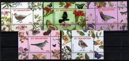 St. Maarten 2016.  Fauna. Birds (5).  MNH - Curaçao, Antilles Neérlandaises, Aruba