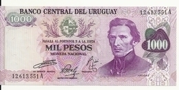 URUGUAY 1000 PESOS ND1974 UNC P 52 - Uruguay