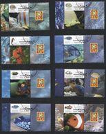 POLAND 2014 Mi 4716-23 Fish, Animals, Water, Nature, Set Of Eight - 1944-.... Republic