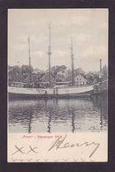 CPA Polaire Polar Pole Expédition Circulé Fram Stavanger 1902 Cachet - Events
