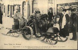 05  BRIANCON  Le Traineau Automobile Du Lieutenant DE LA BESSE 1° Prix Au Concours Du T C F - Briancon
