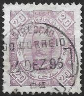 Macao Macau – 1893 King Luis 20 Réis Used Stamp - Macao