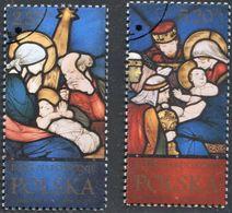 POLAND 2014 Mi 4744-45 Christmas Holiday, Nativity Scene, Birth Of Jesus - 1944-.... Republic