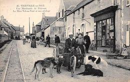 14 - N°110863 - Vierville-sur-Mer - Une Marchande De Poissons - La Mère Vol-au-Vent Et Son Attelage De Chiens- Top Carte - Francia