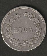LUCCA 1 LIRA 1834 CARLO LOD DUCA DI LUCCA - Regional Coins