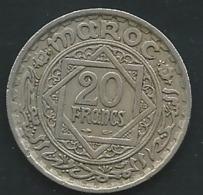 MAROC.Morocco 20 Francs 1366  - Laupi13002 - Marokko