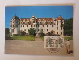 Maximumkarte  Herzogstadt Celle Das Schloss   1987  ♥  (72577) - Architektur