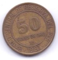 PERU 1981: 50 Soles De Oro, KM 273 - Pérou