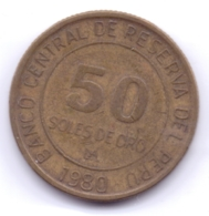 PERU 1980: 50 Soles De Oro, KM 273 - Pérou