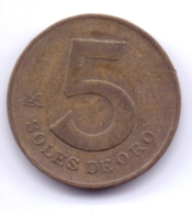 PERU 1978: 5 Soles De Oro, KM 271 - Pérou