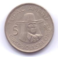 PERU 1977: 5 Soles De Oro, KM 267 - Pérou