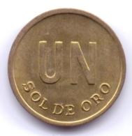 PERU 1976: 1 Sol De Oro, KM 266 - Pérou