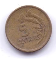 PERU 1974: 5 Centavos, KM 244 - Pérou