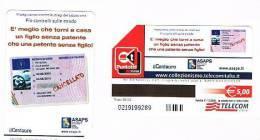 TELECOM ITALIA - C. & C. F4416 -  ASSOCIAZIONE ASAPS: IL CENTAURO       -  USATA - Italia