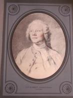 Tableau G.F. Schmidt Portrait D'homme ( Coll. Dutuit ) Imprimé Papier Sur Support D'origine Papier Canson TBE - Otras Colecciones