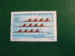 SAINT PIERRE ET MIQUELON YVERT POSTE ORDINAIRE N° 405 NEUF** LUXE COTE 21,00 EUROS - St.Pierre & Miquelon