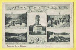 * Gileppe (Liège - La Wallonie) * (H.G.A. 1) Souvenir De La Gileppe, Barrage, Stuwdam, Lion, Bassin, Rive Droite, TOP - Gileppe (Barrage)