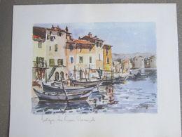 Art - Peinture - LA VENISE PROVENÇALE MARTIGUES SIGNE - Otras Colecciones