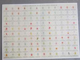 Généalogie Armoiries Des 120  Familles, Noblesse + écu, Emblème , Blason De Venize Veneta Haute Bourgeoisies Italie - Otras Colecciones