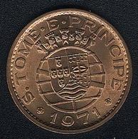 Sao Tome E Principe, 1 Escudo 1971, UNC - São Tomé Und Príncipe