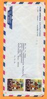 Zaire Cover Mailed - 1980-89: Oblitérés