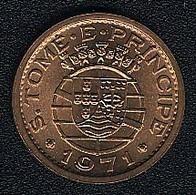Sao Tome E Principe, 20 Centavos 1971, UNC - São Tomé Und Príncipe