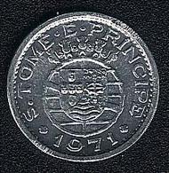 Sao Tome E Principe, 10 Centavos 1971, UNC - São Tomé Und Príncipe