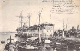 """CPA ALGERIE """"Alger, Bateau Transport De L'Etat Le Mytho"""" / TEXTE AU Recto Communication Marseille / Alger - Alger"""