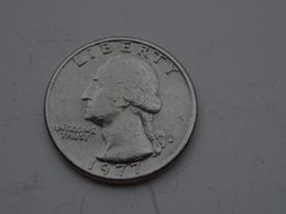 Quarter USA Washington 1977 - Federal Issues
