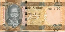 25 LIVRES 2011 - Soudan Du Sud